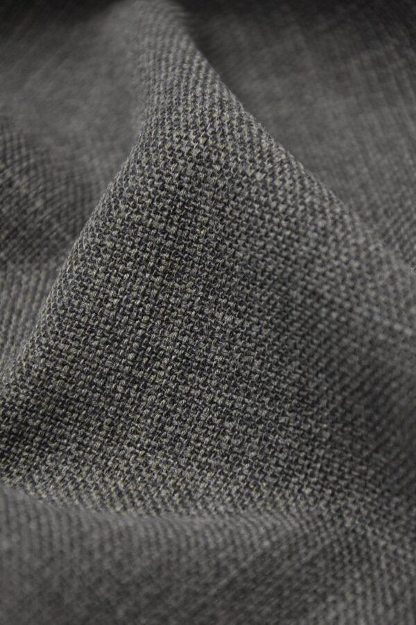 твид шерсть темно серый с зеленым оттенком (1308) - Фото 7