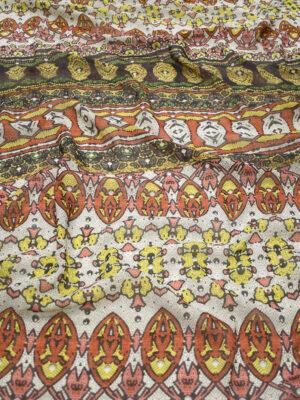 Кашемир шерсть с мозаикой (1530) - Фото 24