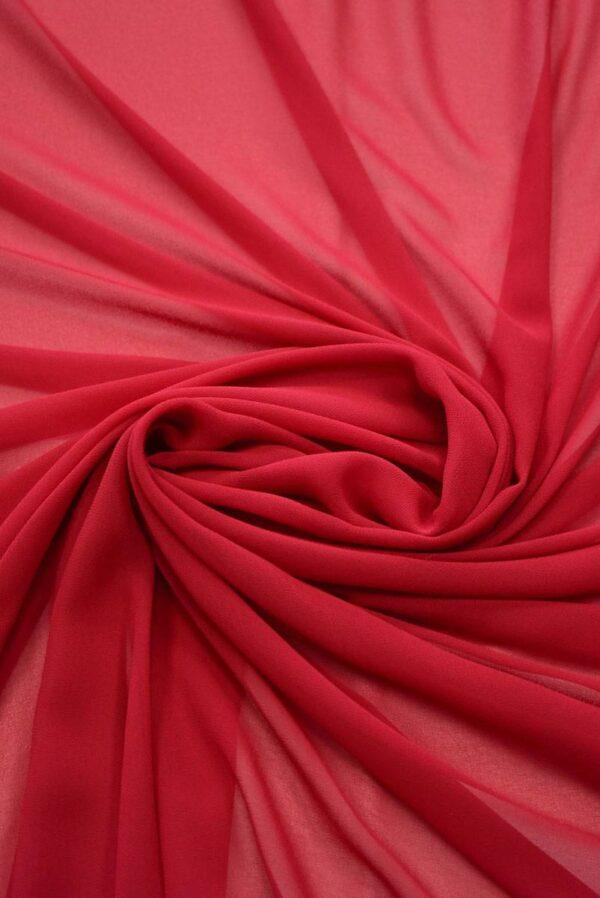 Креп шифон красного оттенка (2016) - Фото 9