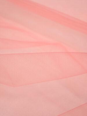 Фатин сетка розовый средней жесткости (2235) - Фото 14
