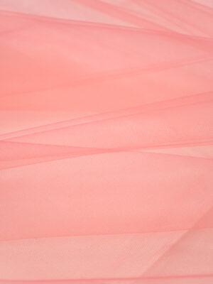 Фатин сетка розовый средней жесткости (2235) - Фото 13