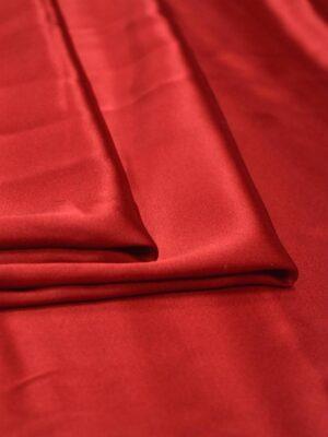 Шелк красный с вишневым оттенком (2461) - Фото 12