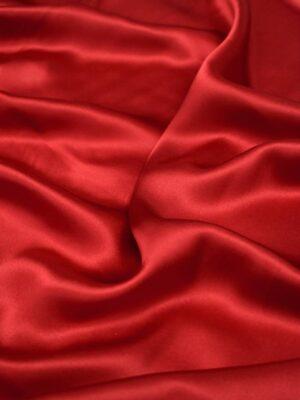 Шелк красный с вишневым оттенком (2461) - Фото 11