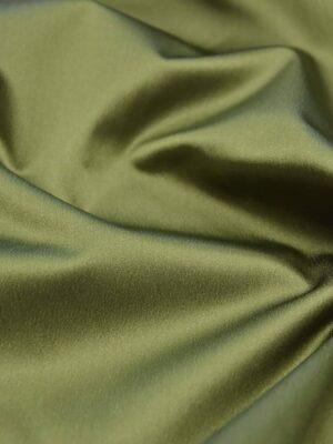 Ватуссо атлас стрейч оливковый (2652) - Фото 17