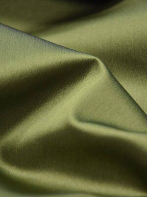 Ватуссо атлас стрейч оливковый (2652) - Фото 18