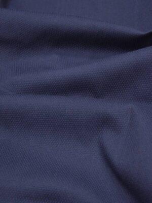 Хлопок-пике синий стрейч (2893) - Фото 12