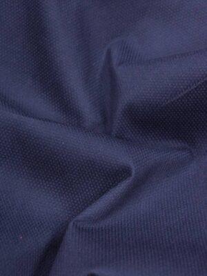 Хлопок-пике синий стрейч (2893) - Фото 11