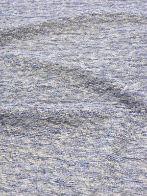 Твид синий меланж серебряная нить люрекса (3787) - Фото 11