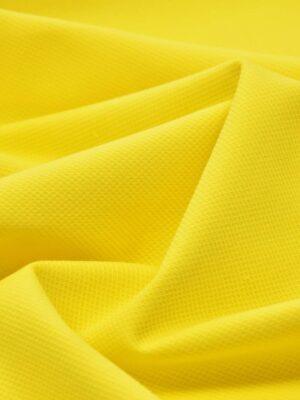 Хлопок пике желтый (4672) - Фото 15