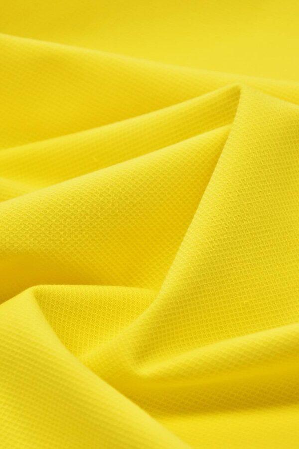 Хлопок пике желтый (4672) - Фото 6
