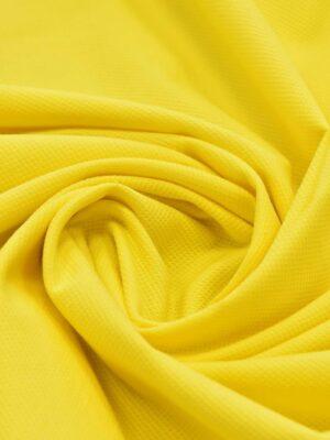 Хлопок пике желтый (4672) - Фото 16
