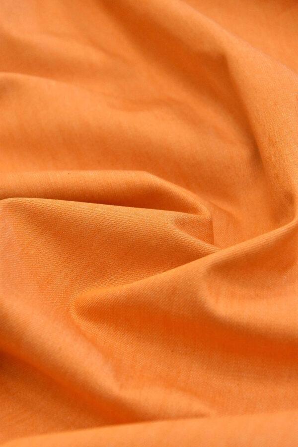 Джинс стрейч хлопок оранжевый (4858) - Фото 6