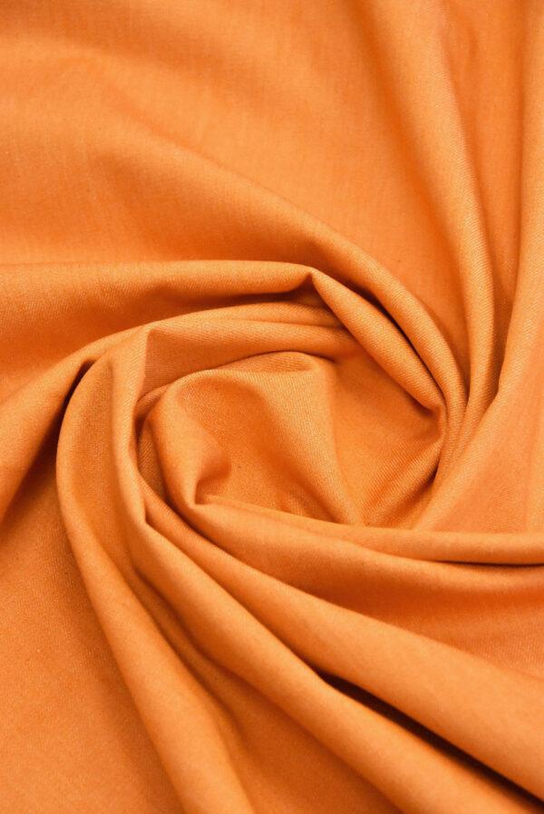 Джинс стрейч хлопок оранжевый (4858) - Фото 7