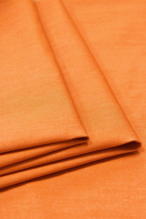 Джинс стрейч хлопок оранжевый (4858) - Фото 9