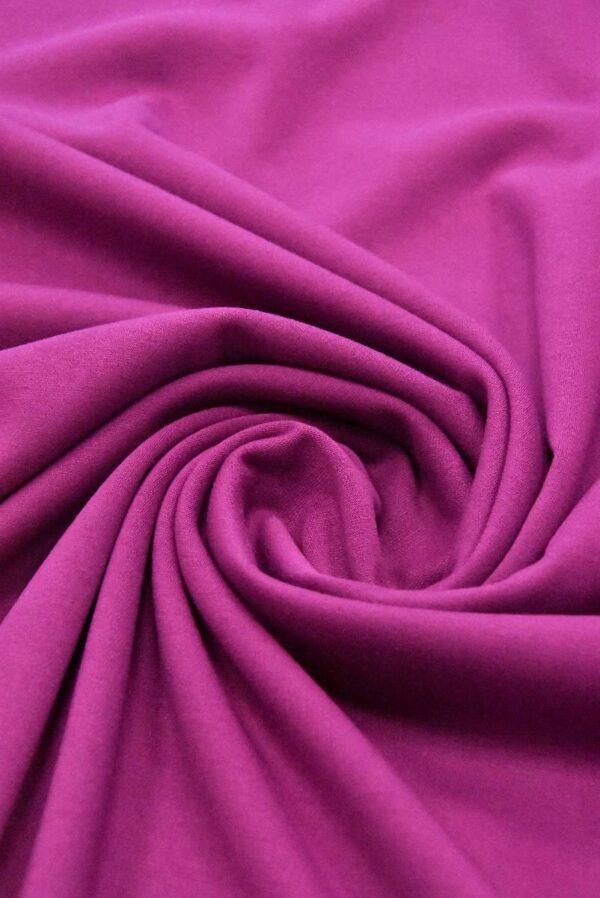 Джерси холодного оттенка фуксии (4881) - Фото 8