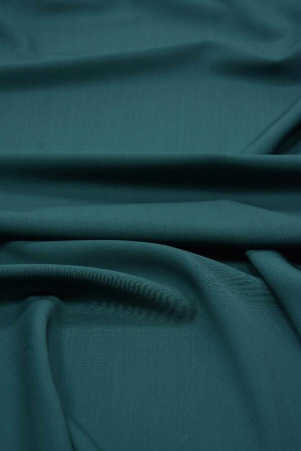 Костюмная шерсть стрейч хвойный оттенок (5405) - Фото 6