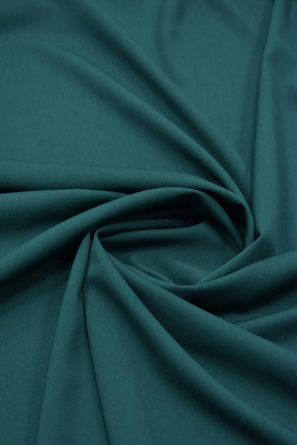 Костюмная шерсть стрейч хвойный оттенок (5405) - Фото 7