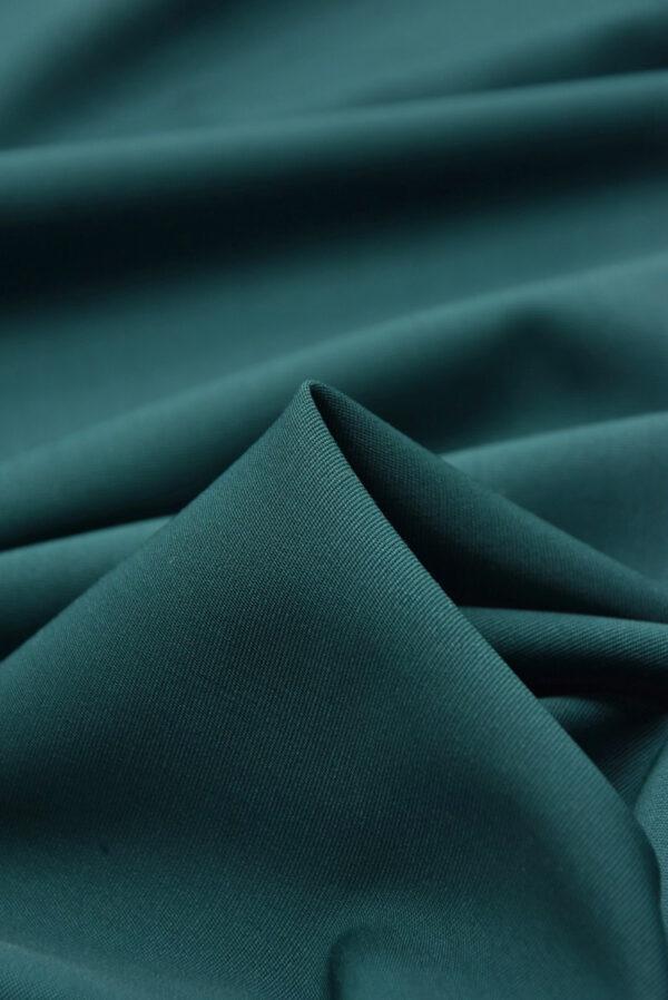 Костюмная шерсть стрейч хвойный оттенок (5405) - Фото 9