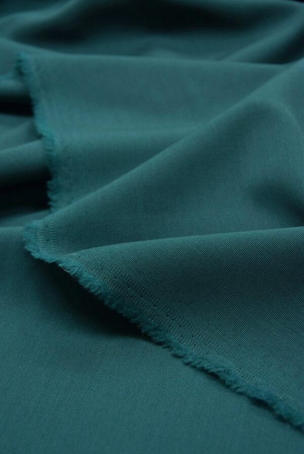 Костюмная шерсть стрейч хвойный оттенок (5405) - Фото 8