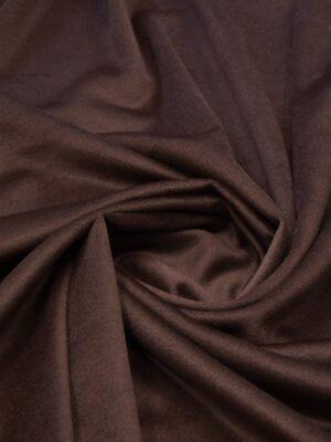 Пальтовая шерсть с кашемиром коричневая (5490) - Фото 18