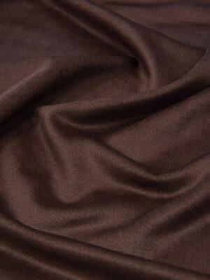 Пальтовая шерсть с кашемиром коричневая (5490) - Фото 17