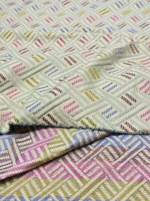 Жаккард с разноцветной геометрией (5538) - Фото 15