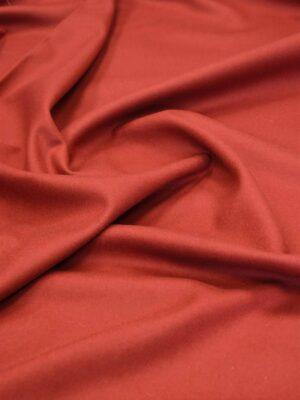Пальтовая шерсть без ворса красно-оранжевый оттенок (5846) - Фото 11