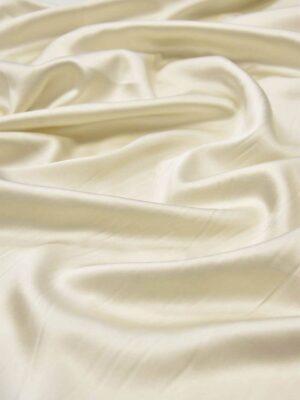 Шелк стрейч атласный айвори (5940) - Фото 18