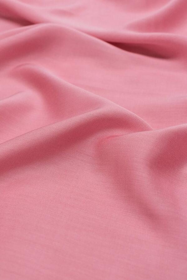 Штапель шелковый розовый (6621) - Фото 6