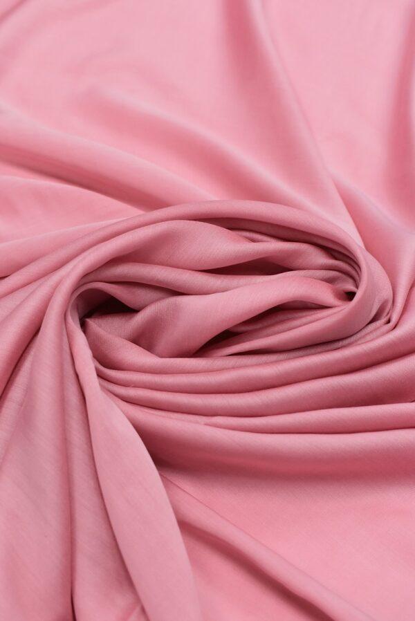Штапель шелковый розовый (6621) - Фото 8