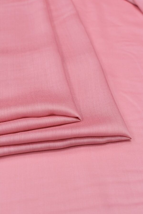 Штапель шелковый розовый (6621) - Фото 7