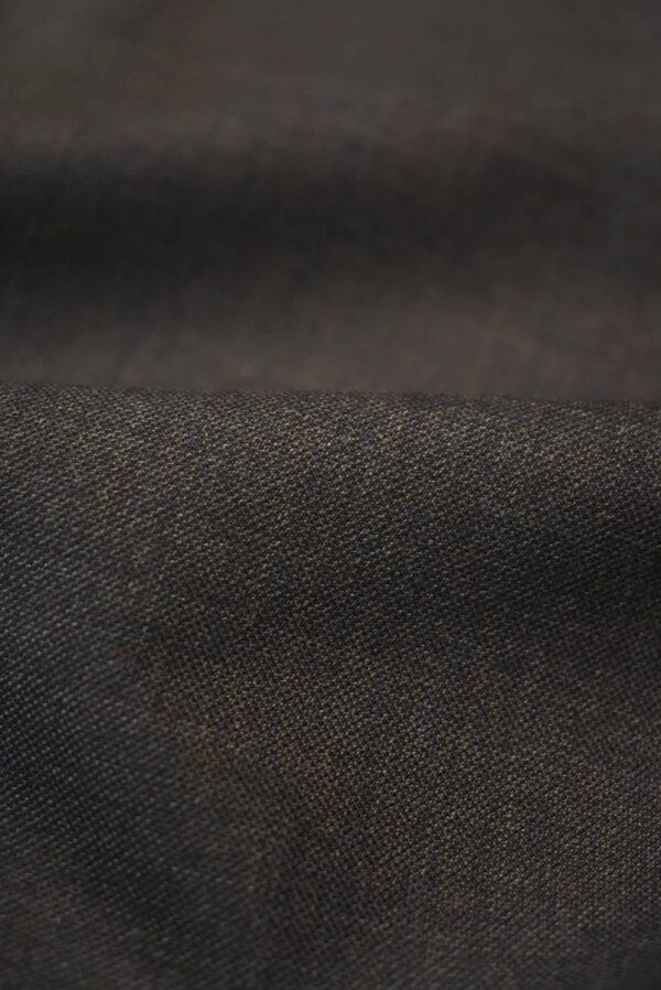 Костюмная шерсть коричневого оттенка (7159) - Фото 10