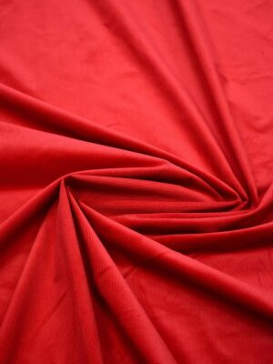 Вельвет стрейч красный оттенок (7601) - Фото 29