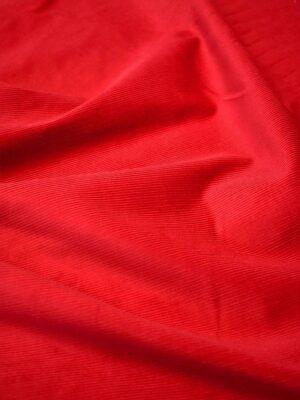 Вельвет стрейч красный оттенок (7601) - Фото 28