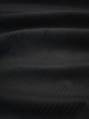 Вельвет черный в крупный рубчик (8489) - Фото 24