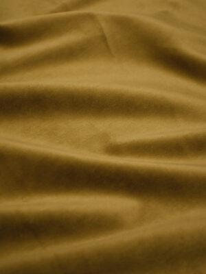 Бархат стрейч горчичного оттенка (8764) - Фото 12