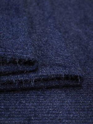 Трикотаж травка темно-синий (9064) - Фото 14