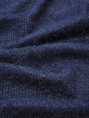 Трикотаж травка темно-синий (9064) - Фото 13