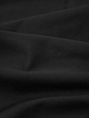 Костюмная ткань черная в мелкий рубчик (9118) - Фото 16