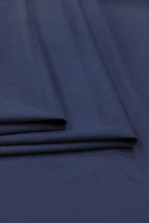 Хлопок стрейч оттенок синий (9147) - Фото 9