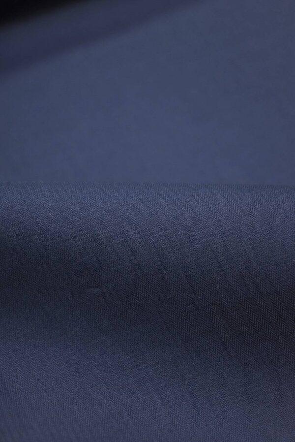 Хлопок стрейч оттенок синий (9147) - Фото 11