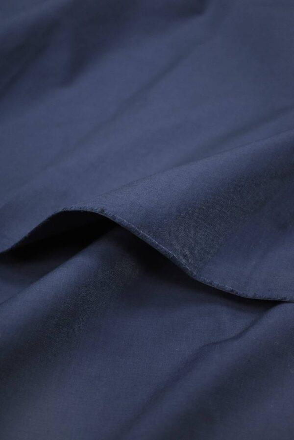 Хлопок стрейч оттенок синий (9147) - Фото 10