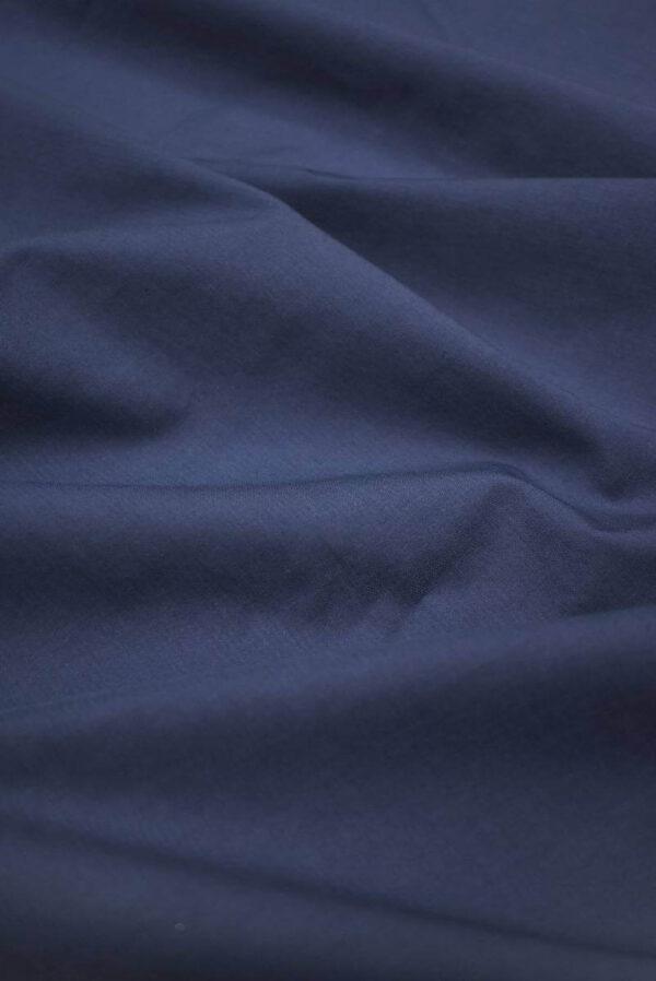 Хлопок стрейч оттенок синий (9147) - Фото 6