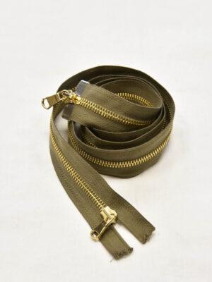Молния золото разъемная оливковая 100 см (m0950) - Фото 16