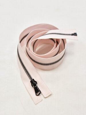 Молния блек никель разъемная бледно-розовая 80 см (m0960) - Фото 17