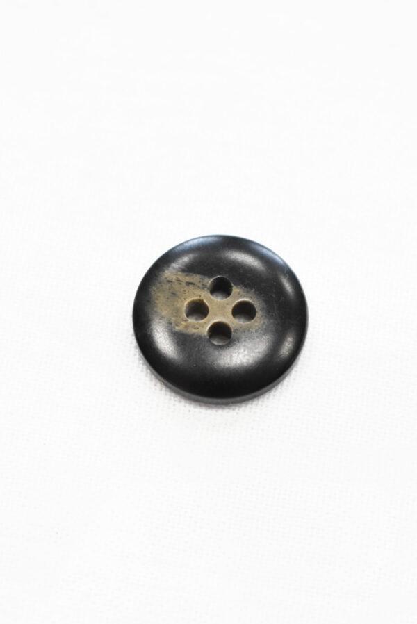 Пуговица маленькая черная с бежевыми вкраплениями (р1200, р1343) - Фото 7
