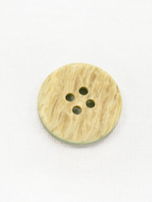 Пуговица пластик беж с зеленой серединкой (р1236) - Фото 11