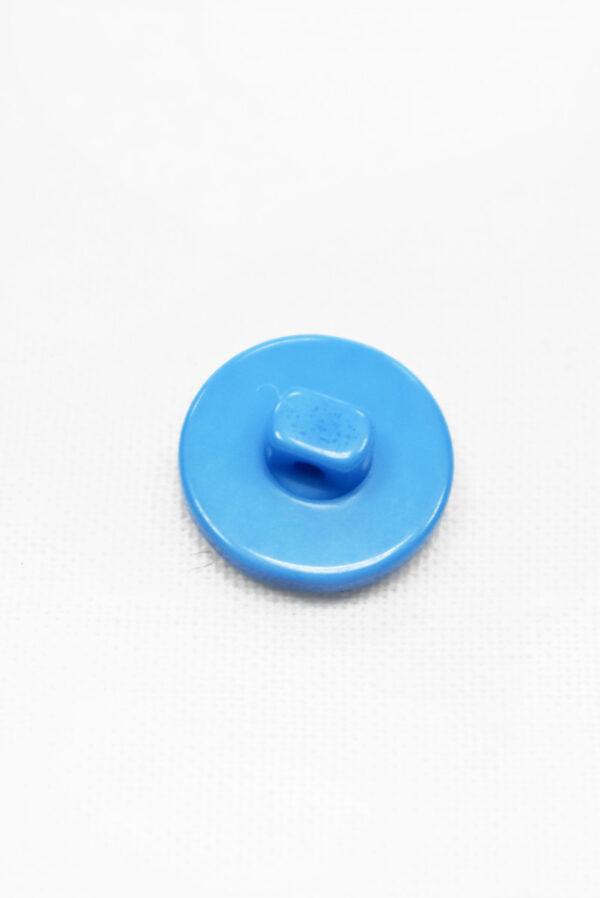 Пуговица пластик голубая на ножке (р1298) - Фото 7
