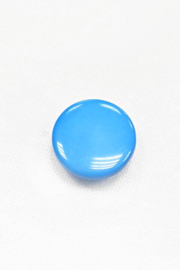 Пуговица пластик голубая на ножке (р1298) - Фото 6