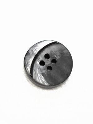 Пуговица графит с мраморным узором и вставкой в виде месяца (р1346) - Фото 16